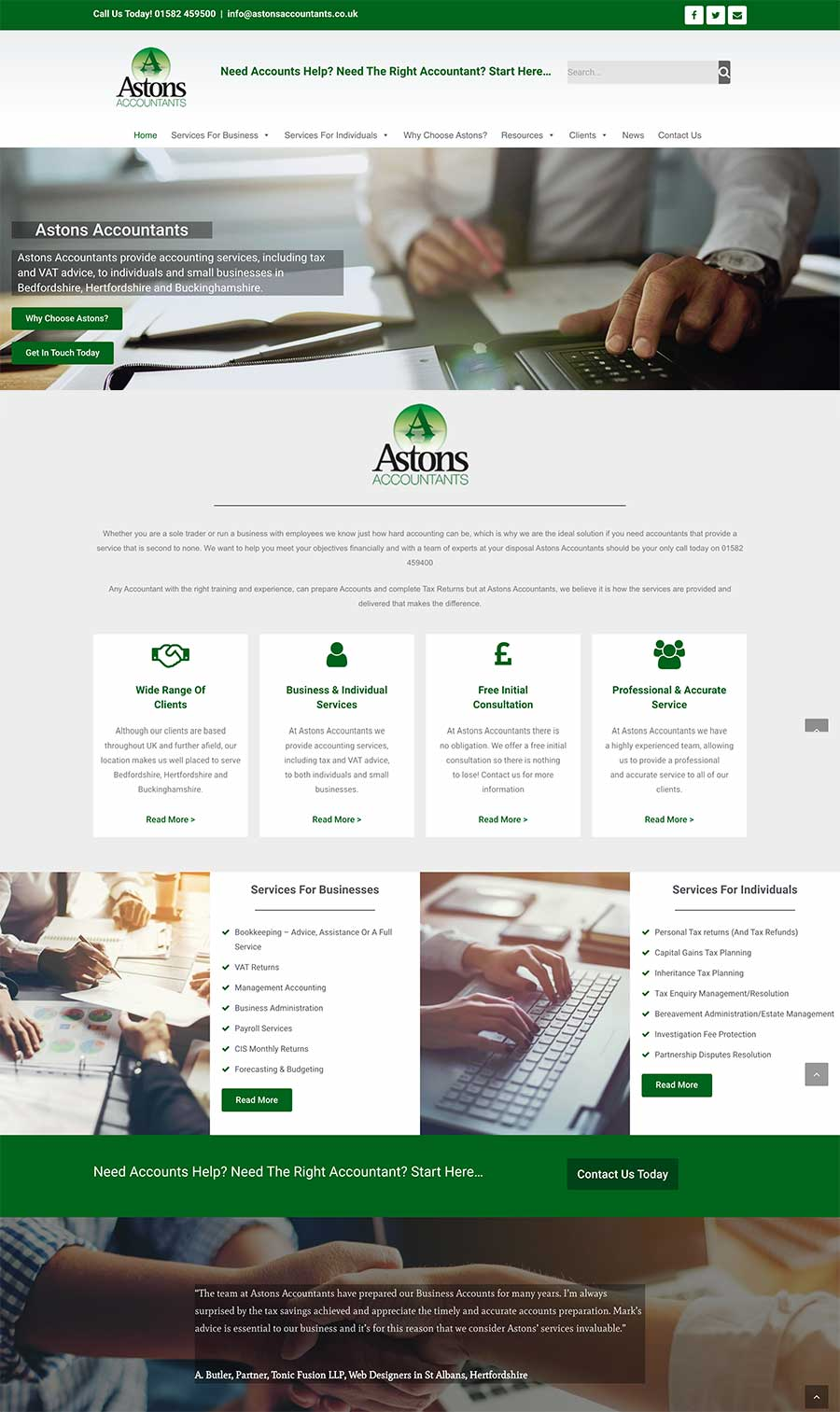 Astons Accountants