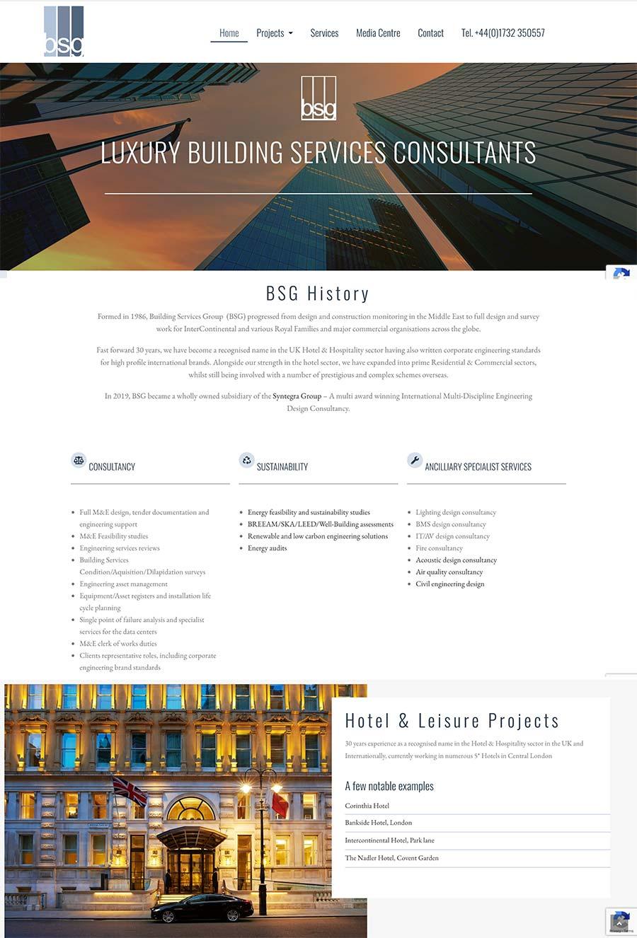 BSG Luxury Building services Consultants