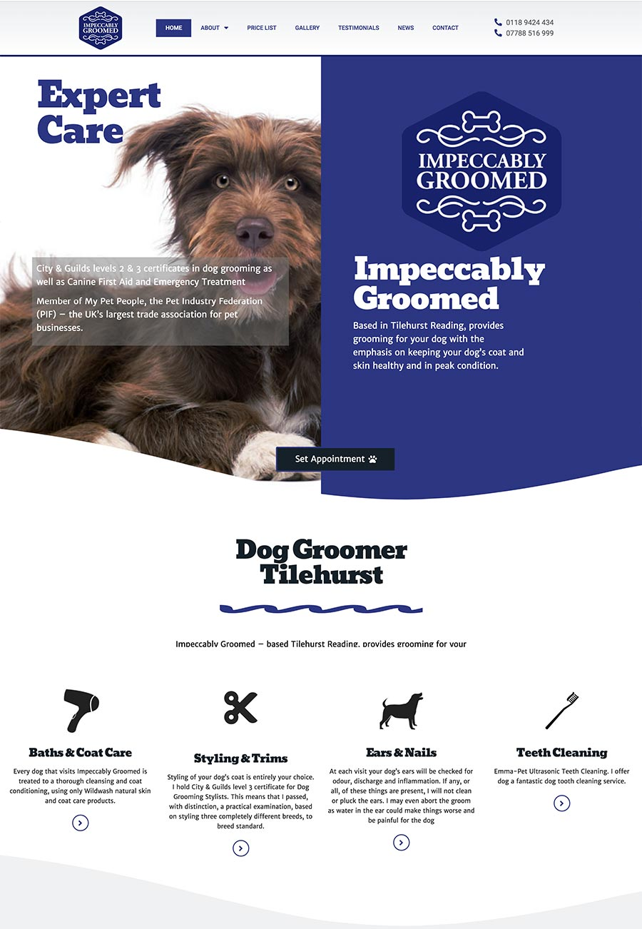 Impeccably Groomed