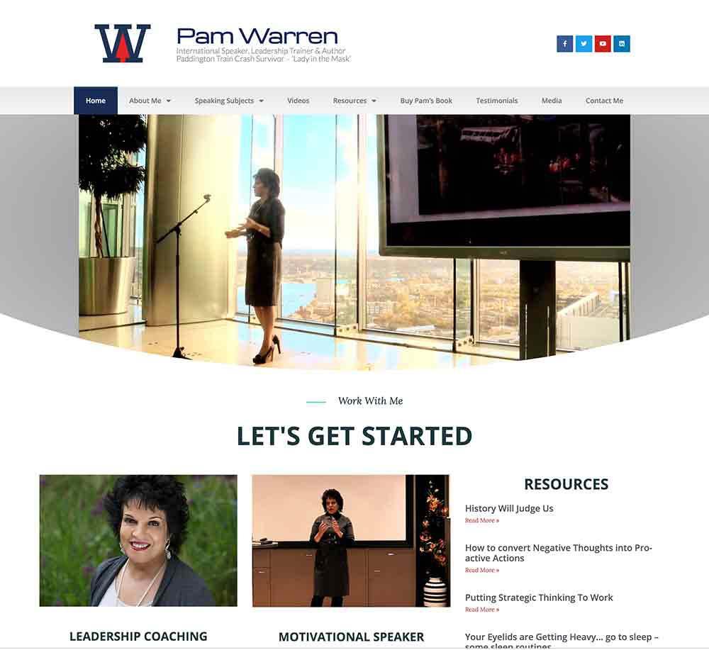 Pam Warren Public Speaker
